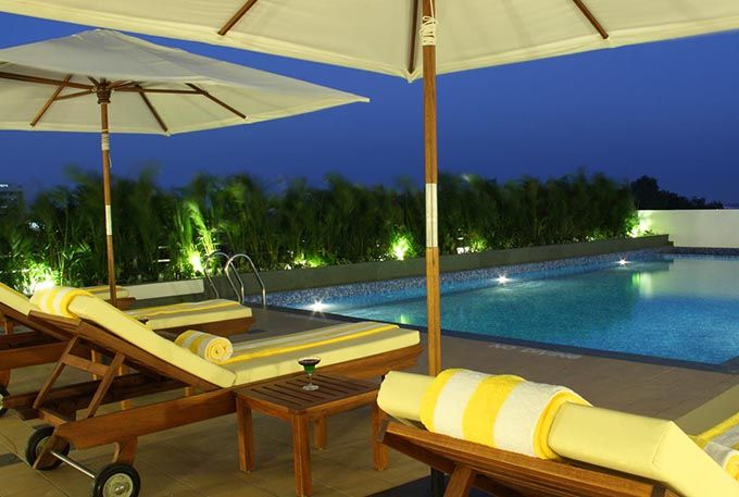 Swimming Pool at Lemon Tree Hotel Electronic City Bangalore